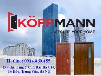 Cửa thép vân gỗ chống cháy nhập khẩu Koffmann, bạn đã biết chưa?