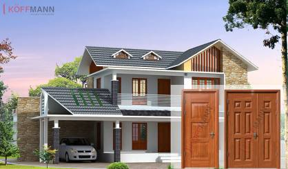 Enternews.vn: Cửa thép vân gỗ - Sự lựa chọn an toàn cho các gia đình