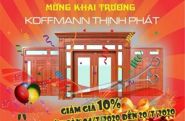 Koffmann khai trương chào đón thành viên mới Koffmann Thịnh Phát