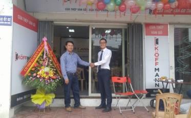 Koffmann khai trương đại lý cửa thép vân gỗ đầu tiên tại Thanh Hóa
