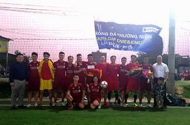 Lễ bế mạc và trao giải bóng đá thường niên QME&KMD CUP 2019