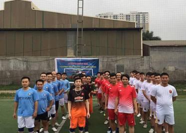"""Khai mạc giải bóng đá thường niên """"QME&KMD CUP 2018"""""""