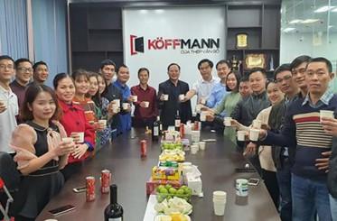 Khai xuân đầu năm Canh Tý 2020 của Công ty cổ phần Koffmann Việt Nam
