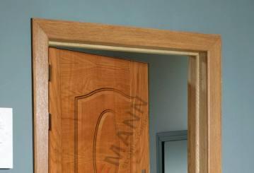 Khuôn cửa là gì? Phân biệt khuôn đơn và khuôn kép trong cửa thép vân gỗ