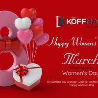 Koffmann Việt Nam chúc mừng ngày Quốc tế Phụ nữ 8/3/2021