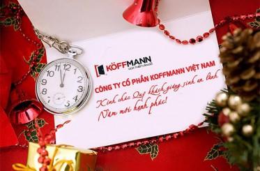 Koffmann – Chúc mừng Giáng sinh và năm mới 2019