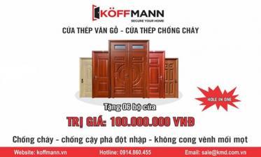 "KOFFMANN tài trợ giải ""FLC FAROS GOLF TOURNAMENT 2018"" tại Hạ Long 1 tỷ đồng"