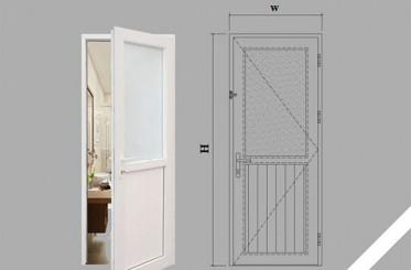 Cách lắp đặt cửa kính nhà vệ sinh
