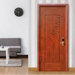Các mẫu cửa thông phòng đẹp và hiện đại bằng cửa thép vân gỗ