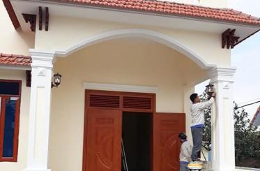 Sử dụng cửa thép vân gỗ cao cấp cho công trình
