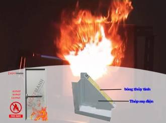 Vai trò của bông thủy tinh trong sản xuất cửa chống cháy