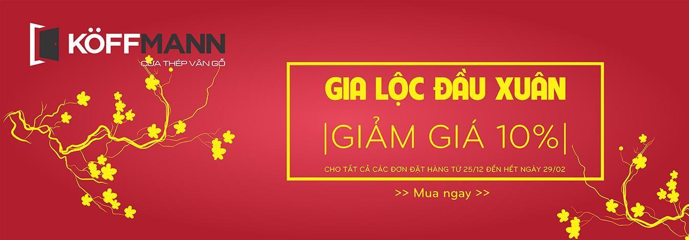 Banner Gia Lộc Đầu Xuân 2020