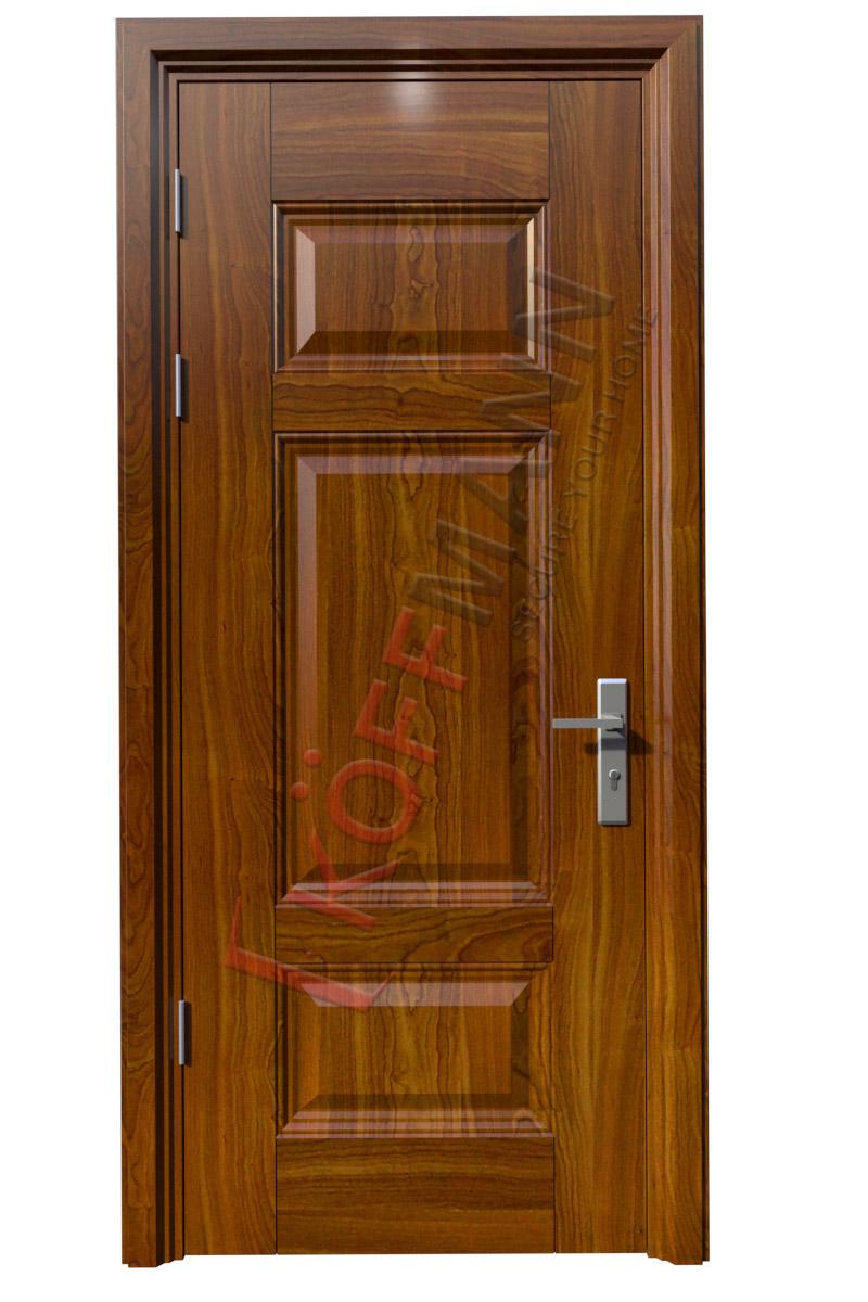 Cửa thép vân gỗ KG-103-1