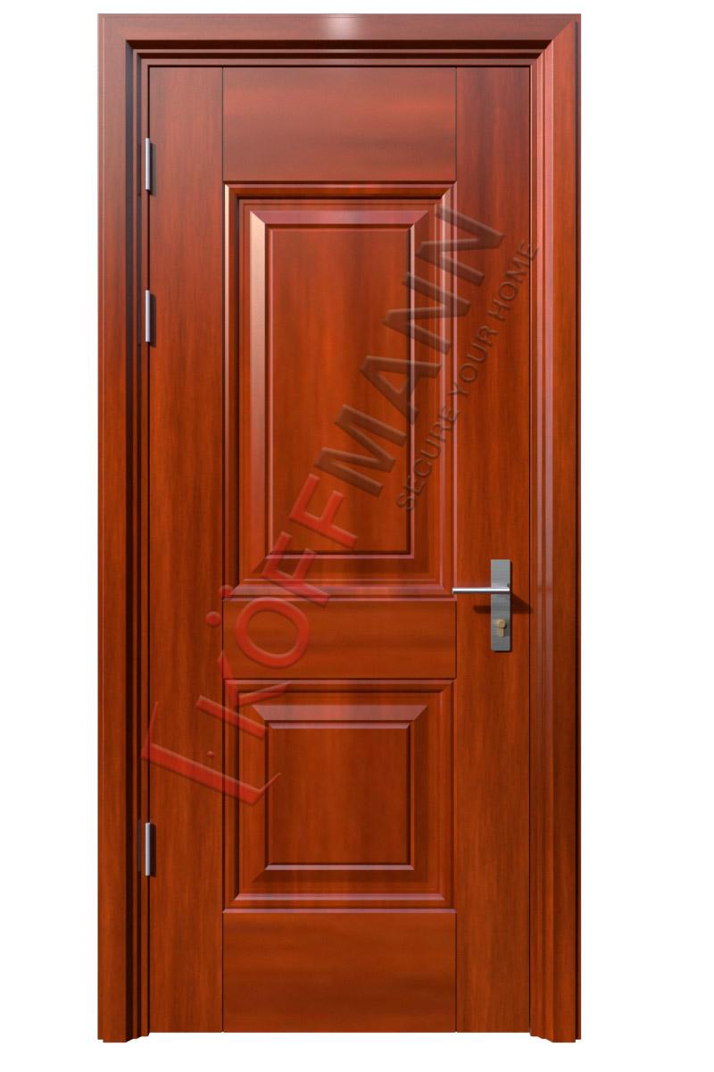 Cửa thép vân gỗ KG-106