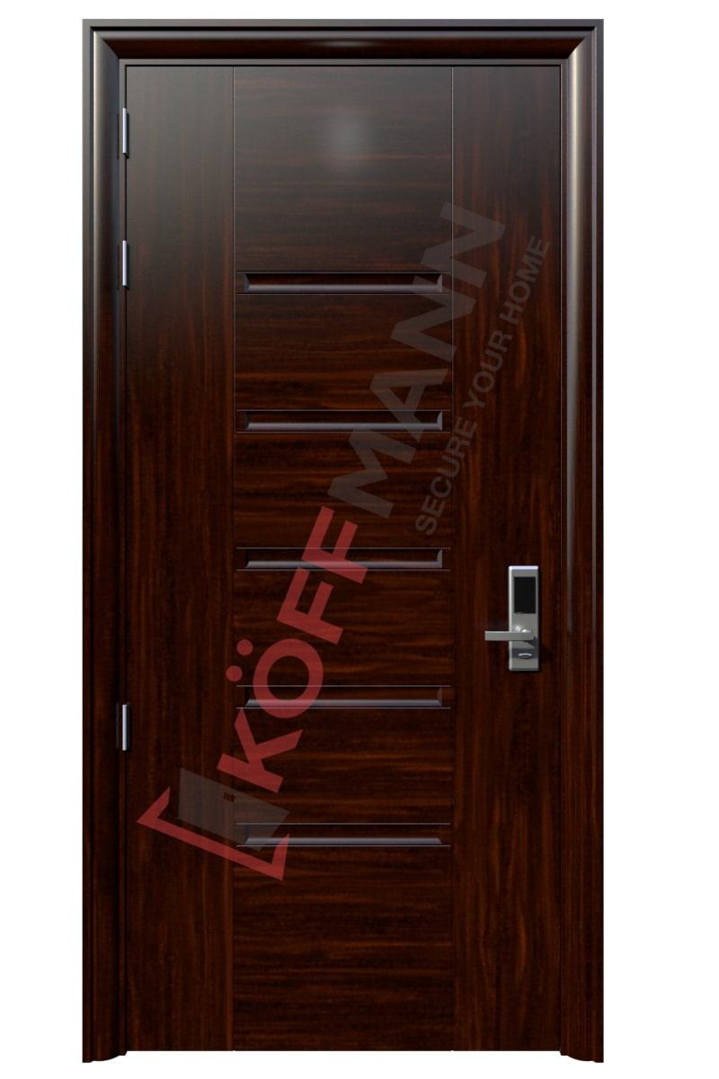 Cửa thép vân gỗ KG-111-2