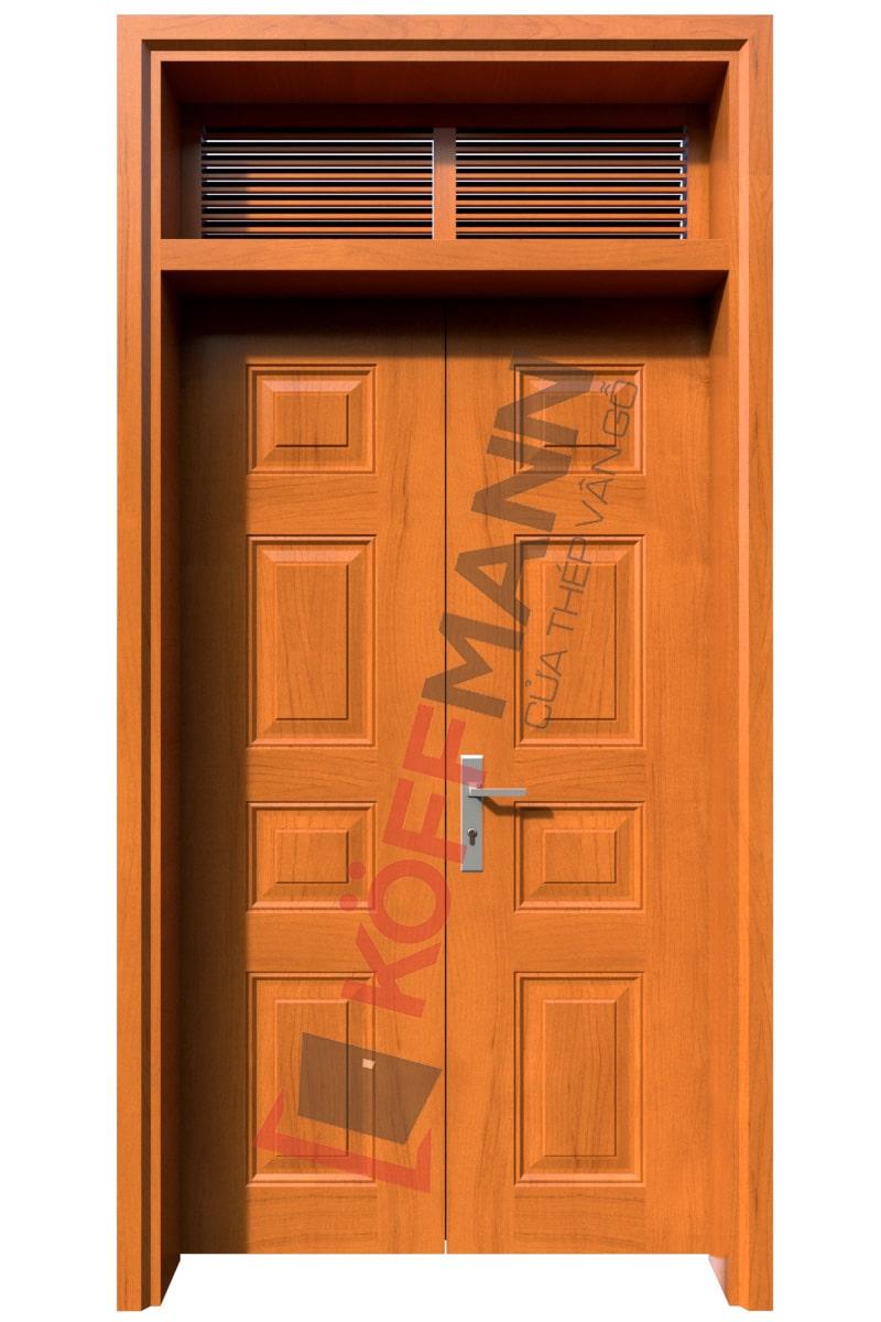 Cửa thép vân gỗ KG - 22.CS1-2NC