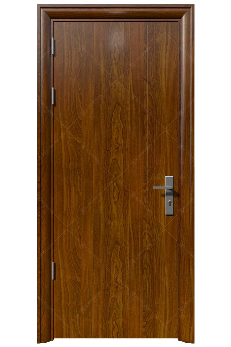 Cửa thép vân gỗ KG-1.08-1