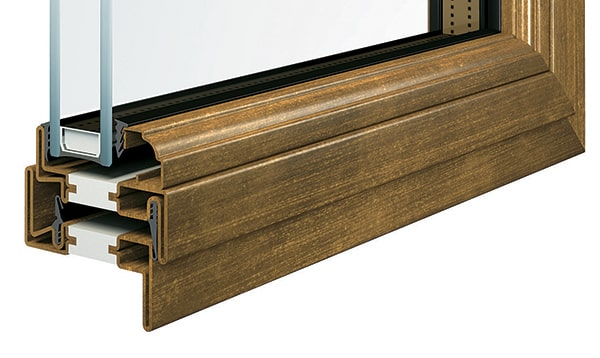 Khả năng cách nhiệt cửa thép vân gỗ