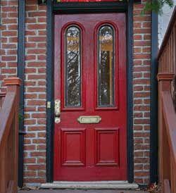 Màu đỏ cửa chính nói gì về tính cách của bạn