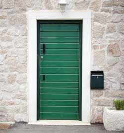 Màu xanh lá cây cửa chính nói gì về tính cách của bạn