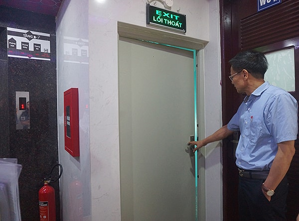 Nên lắp đặt cửa thép chống cháy ở đâu?