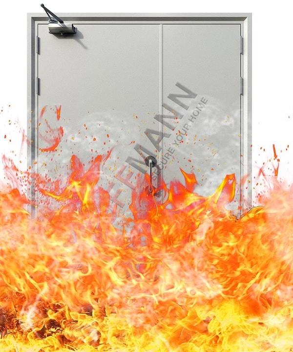 Tại sao cửa thép chống cháy lại có thể chống được lửa?
